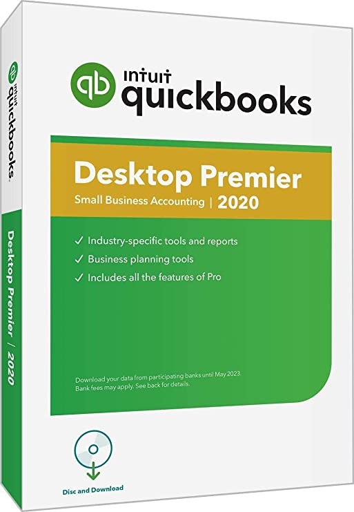 QuickBooks Premier Accountant UK 2020 5 User